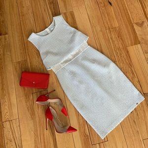 WAGGON PARIS   $198   stretch dress polka dot